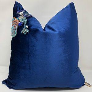 Set of 2 - Velvet Decorative Pillow Cover